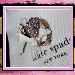 New♠️kate spade Crystal Flamingo Ring!🌴